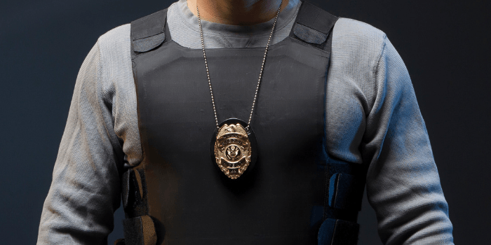 Can a Process Server Wear a Badge?